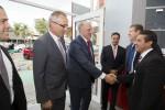Sackmann y Tostmann visitaron concesionarias en Puebla