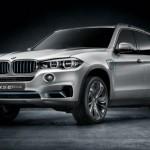 BMW Concept5 X5 eDrive híbrido que se presentará en Frankfurt