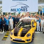 Volkswagen celebra 10 millones de vehículos producidos en México
