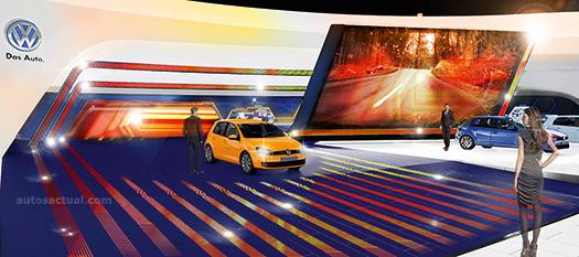 El Stand de Volkswagen par el Autoshow de Frankfurt Electrizante