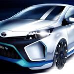 Toyota Yaris Hybrid R en imagen oficial se presentará en Frankfurt
