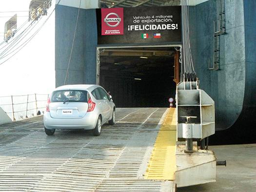 Nissan México exporta su unidad 4 millones