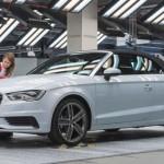 Audi comienza producción del A3 Cabriolet