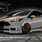 Ford muestra los personalizados y equipados Fiesta y Fiesta ST para SEMA 2013