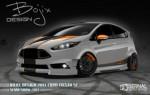 Bojix Design Fiesta ST para SEMA 2013
