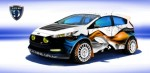 Ice Nine Group Fiesta ST para SEMA 2013