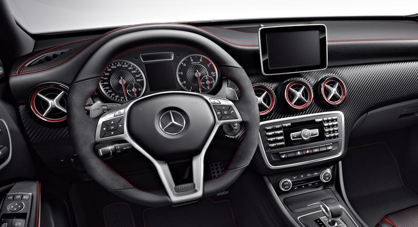 Mercedes A 45 AMG en México