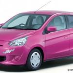 Mitsubishi presenta el Mirage edición Hello Kitty
