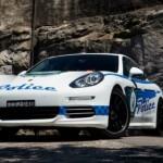 Porsche presenta el Panamera 4S policía de Sídney