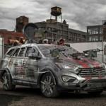 Hyundai presentó su Santa Fe anti Zombies en Comic Con de Nueva York