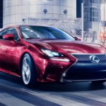 Lexus RC Coupé se muestra previo a Tokio