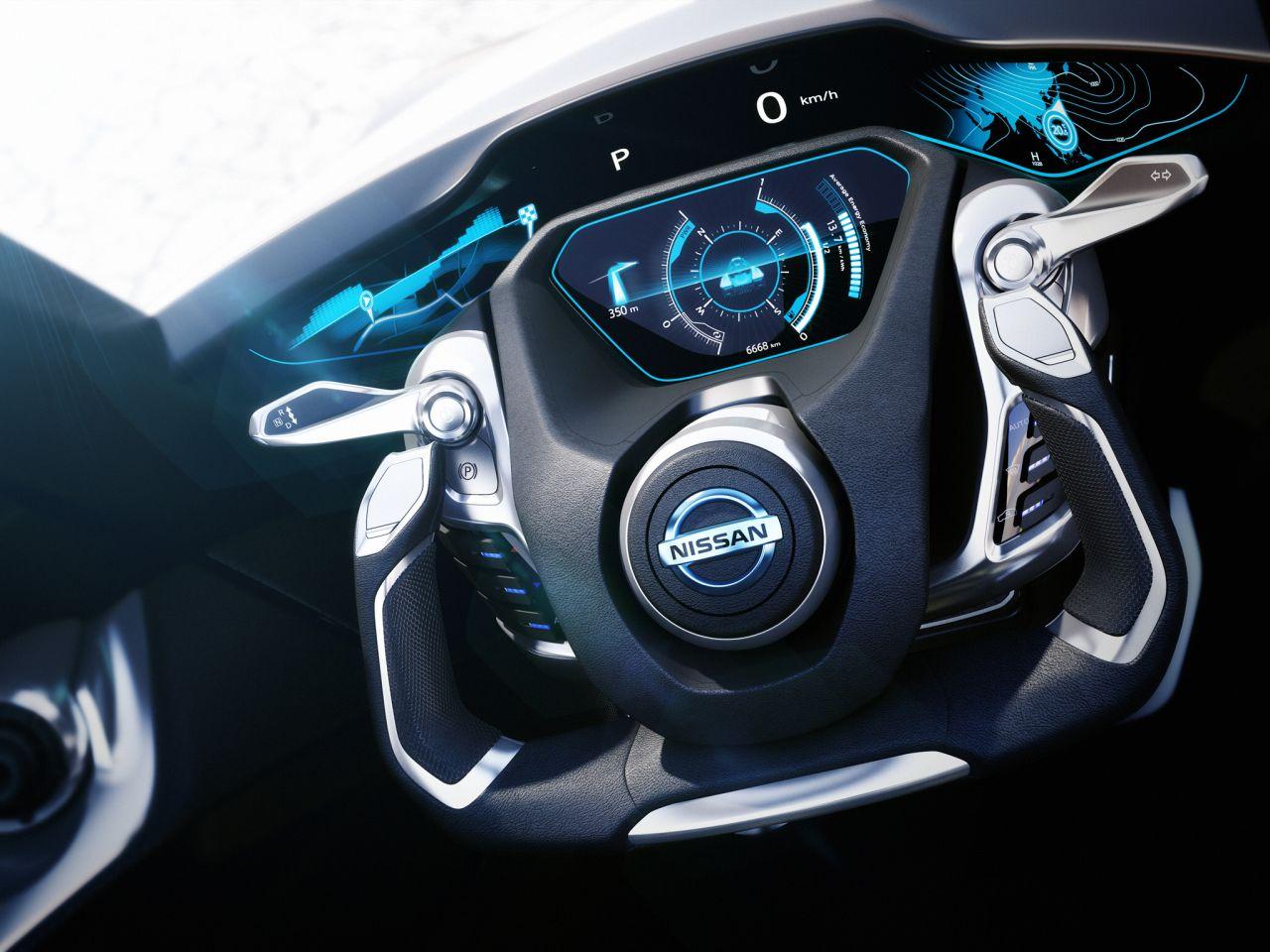 Nissan Bladeglider Concept interior