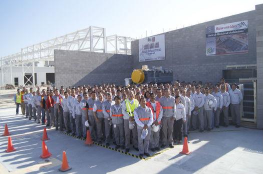Planta Nissan Aguascalientes 2