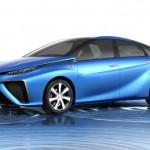 Toyota muestra el FCV alimentado con hidrógeno para Tokio