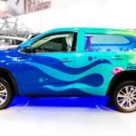 Toyota muestra la Highlander Bob Esponja para el SEMA 2013