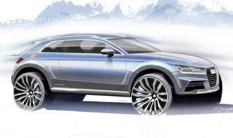 Audi Crossover Concept Teaser