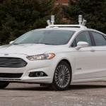Ford presenta el Fusion Hybrid con conducción autónoma
