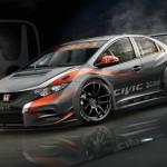Honda desvela el Civic 2014 WTCC