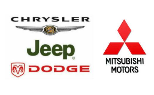 Logo Chrysler y Mitsubishi