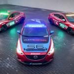 Mazda muestra tres modificados Mazda6 para la carrera de las  25 horas de Thunderhill