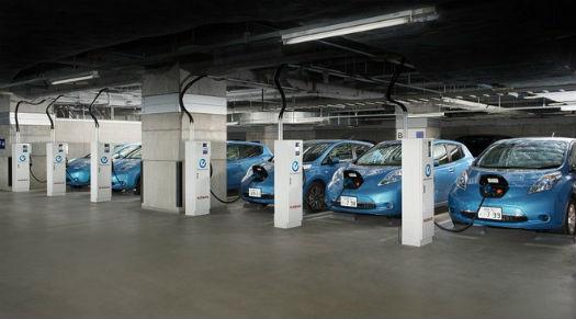 Nissan Leaf Centro de carga