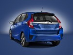 Honda Fit 2016 vista posterior