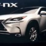 El nuevo Lexus LF-NX de producción filtrado