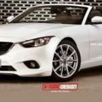 Nueva generación del Mazda MX-5 en primer imagen Render