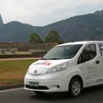 Nissan y FedEx prueban la van eléctrica e-NV200 en Brasil