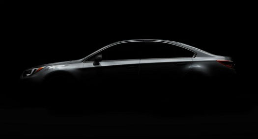 Subaru Legacy Teaser