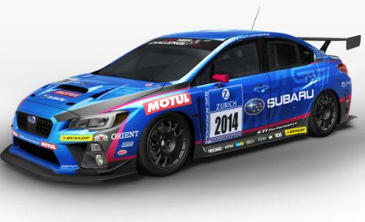 Subaru WRX STI para carreras