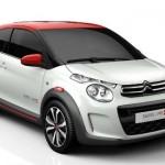 También presentan el Citroën C1 Swiss&Me