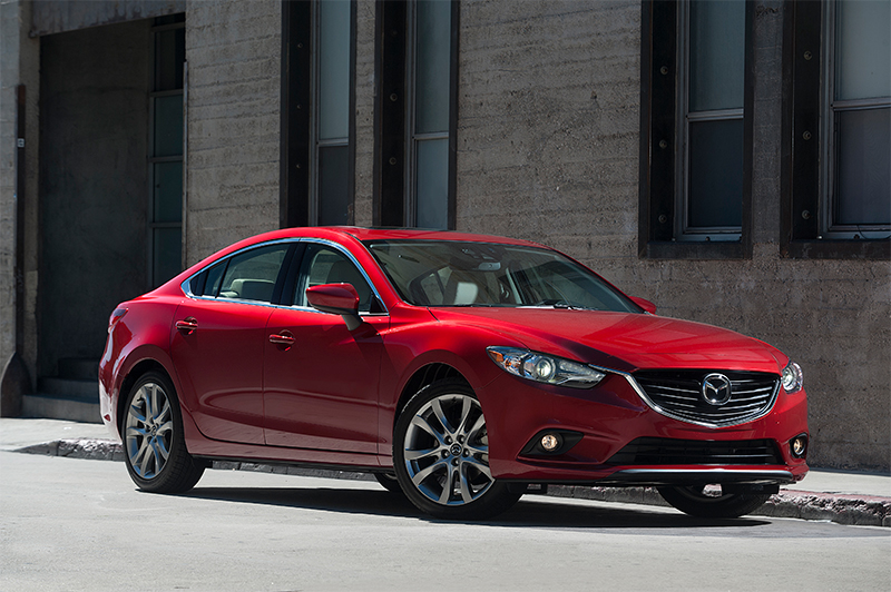 Mazda 6 2015 México color rojo