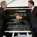 Mazda inaugura primer planta de producción en México