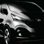 Renault presenta Sketch de su nueva Van Trafic 2014