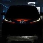 Nuevo Toyota Aygo en imagen teaser previo a Ginebra
