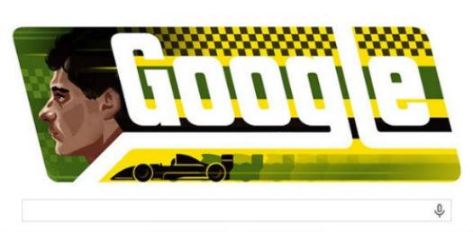 Ayrton Senna en Google