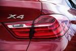 BMW X4 parte trasera