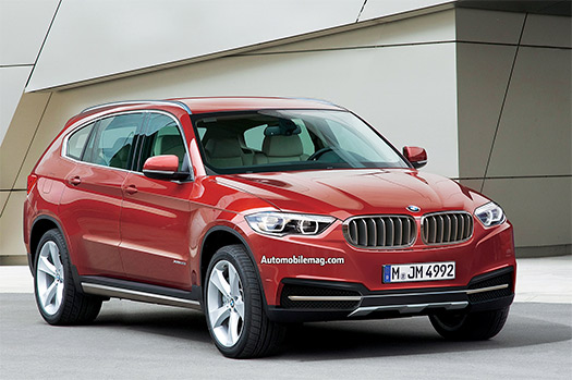 BMW X7 SUV Render