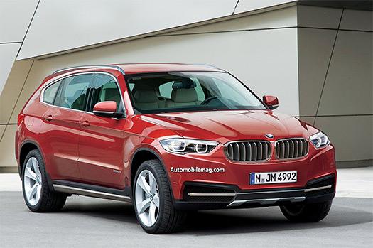 BMW X7 SUV Render