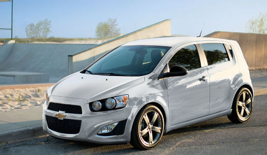 Chevrolet Sonic RS Hatchback 2014