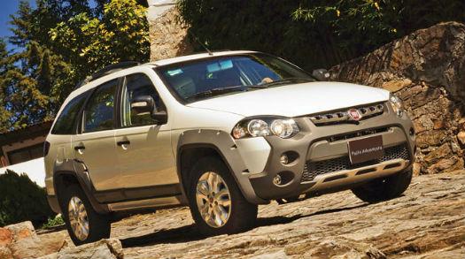 Fiat Palio Adventure 2014 en México