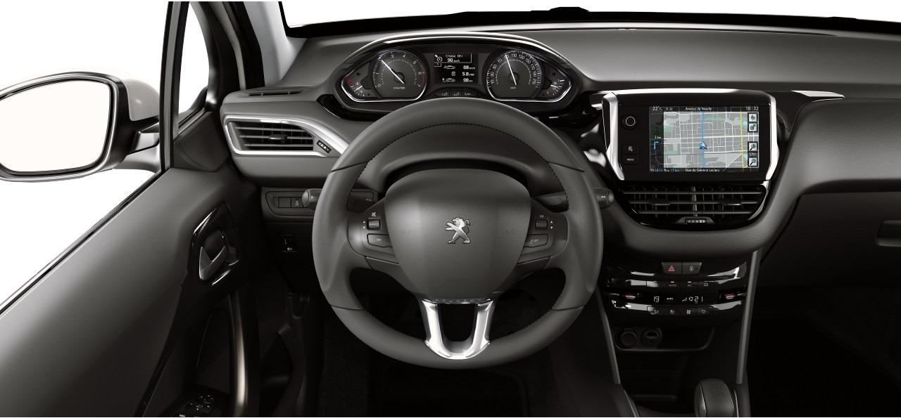 peugeot 208 roland garros interior autos actual m xico. Black Bedroom Furniture Sets. Home Design Ideas