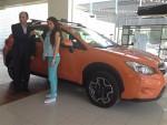 Subaru nombra embajadora a Paola Longoria
