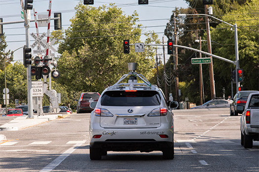 Google auto se maneja solo