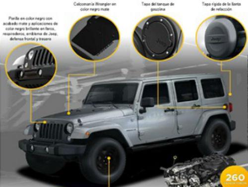 Jeep Wrangler Unlimited Altitude II 2014 en México