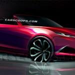 El nuevo Mazda MX-5  2015 Concept se revela en primer sketch oficial