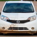 Nissan muestra el Note que se auto limpia (fotos y video)