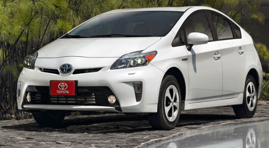 Toyota Prius 2014  México  color blanco