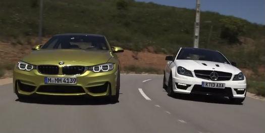 BMW M4 vs Mercedes C63
